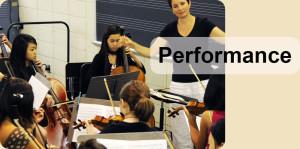 IU Summer String Academy , Brenda Brenner Directing a rehearsal