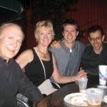 Don,Sandra, Stefan, Alan Pierson